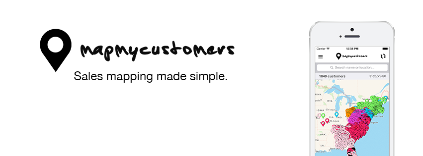 map my customers