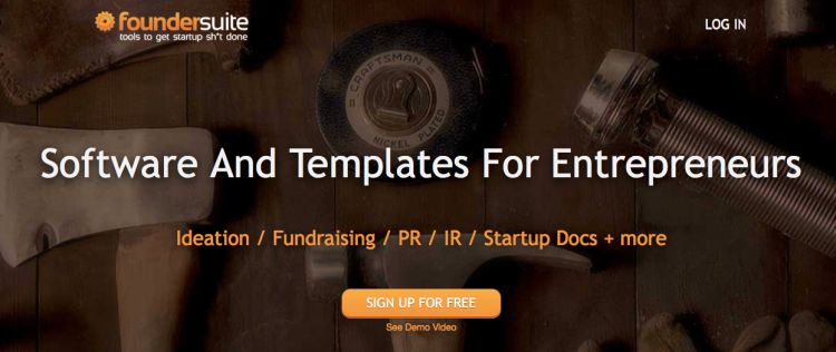 Foundersuite – Software And Templates For Entrepreneurs And Startups