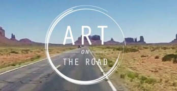 Art on the Road : A Camera, A Vision, And A Oneway Ticket