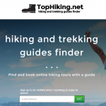 TopHiking – Hiking and Trekking Guides Finder (launching soon)