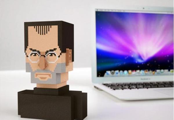 3D print steve jobs
