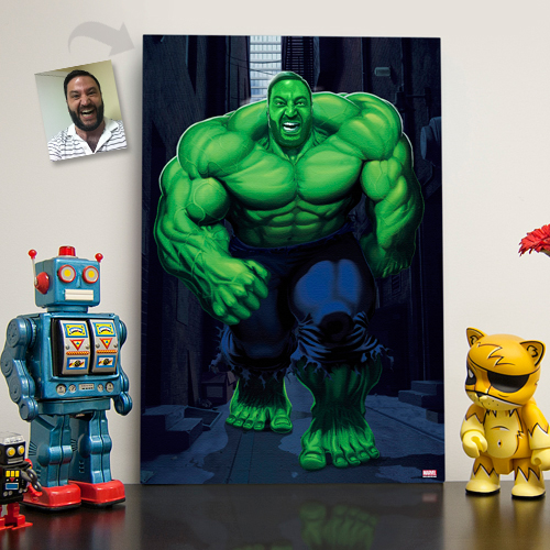 Hulk Custom Illustration