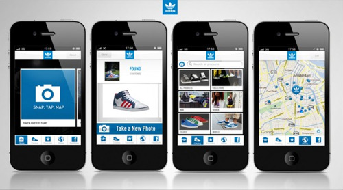 Adidas iPhone Mobile App