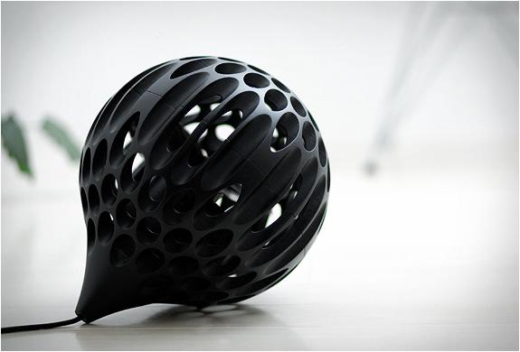 aero sphere fan red dot design award winner