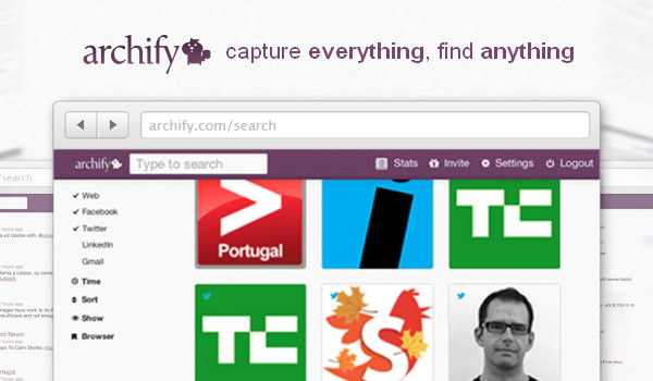 Archify, archive your web history