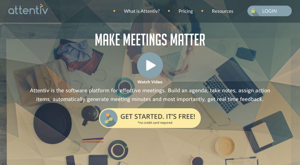 attentiv meetings