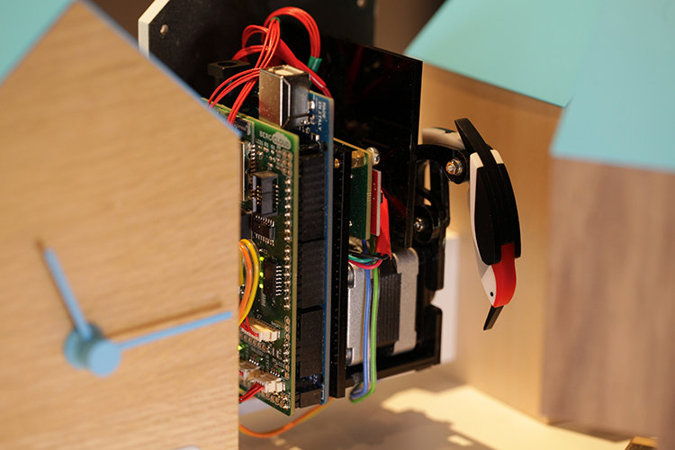 berg cloud arduino clock