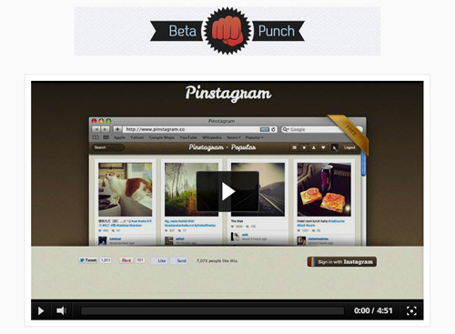 beta-punch-pinstagram