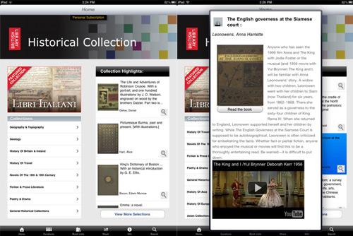 British Library on the iPad