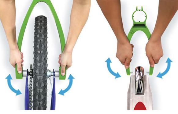 chalktrail install bike