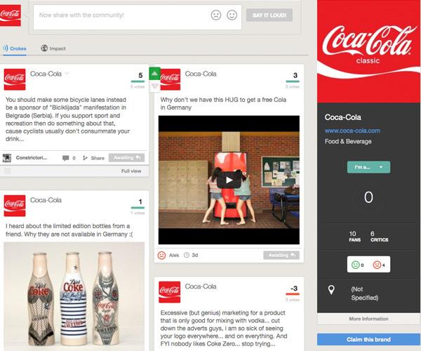 croking coca-cola