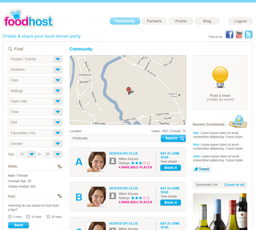 Foodhost Dinner Review