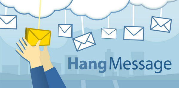 HangMessage Leave a message at a location for a friend to pick up