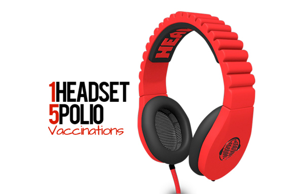 headcase sound red headset