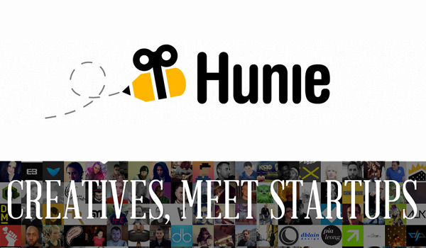 hunie where creatives meet startups