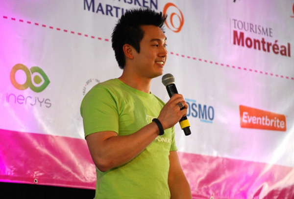 jintronix justin tan wins montreal startup festival