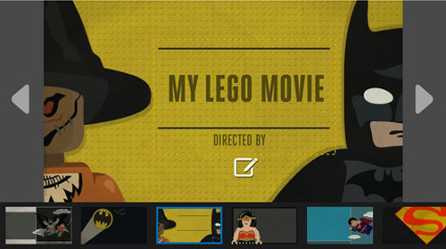 lego super hero movie maker