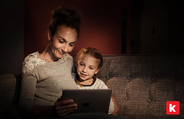 kiddology parents and kids using apps together