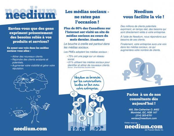 needium brochure