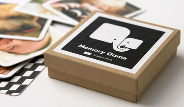 pinhole press memory game