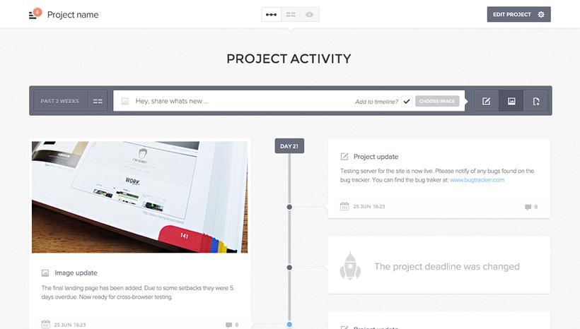 project management updatey