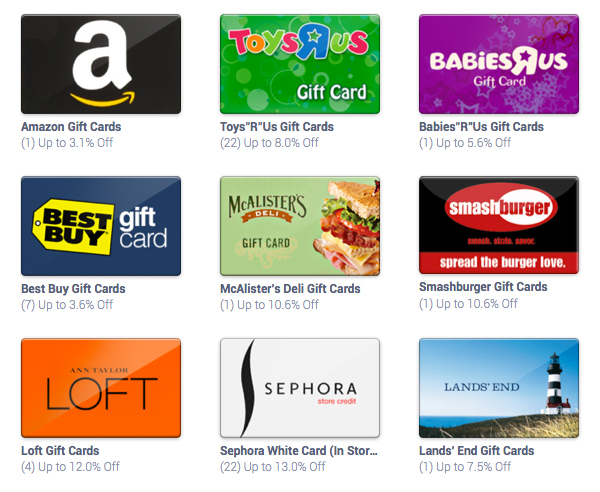 raise gift cards