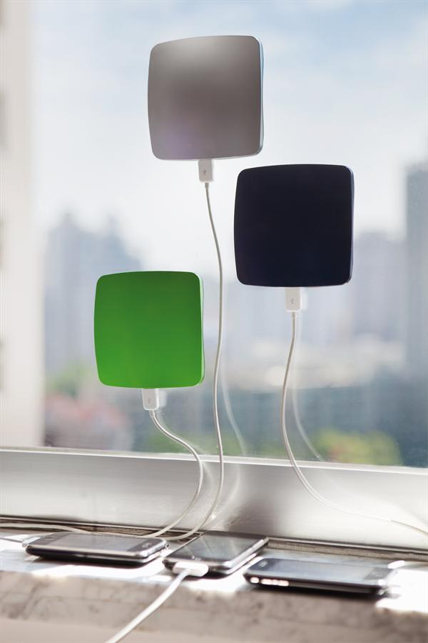 smartphone solar window charger