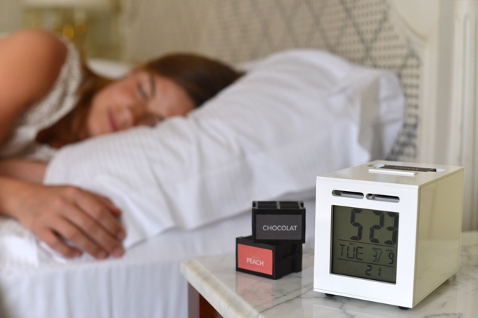 smelly alarm clock