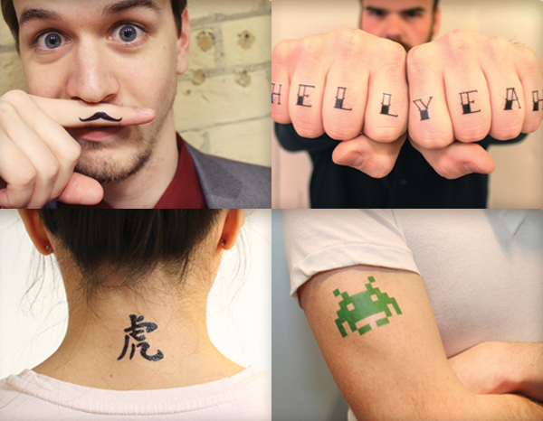 Sticker Tattoos That Look Real Look Like a Real Tattoo
