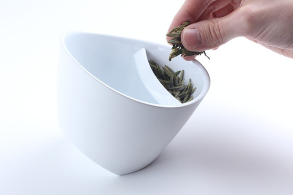 teacup leaves