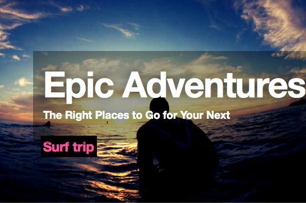 thrill engine epic adeventures