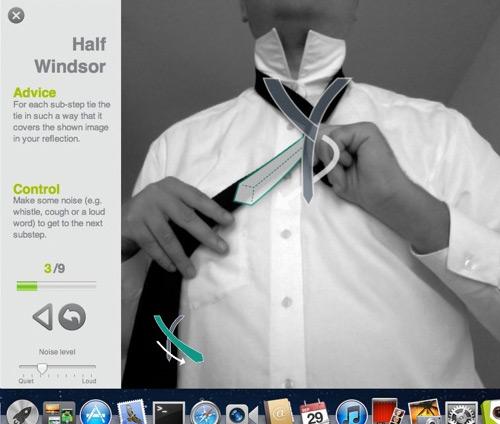 tiesight half windsor