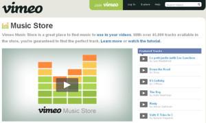 vimeo music store