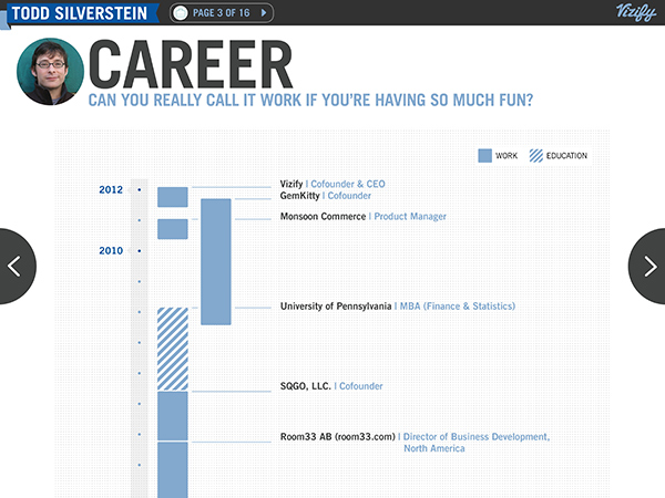 vizify career