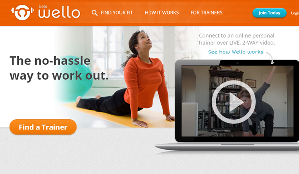 wello personal trainers with video chat